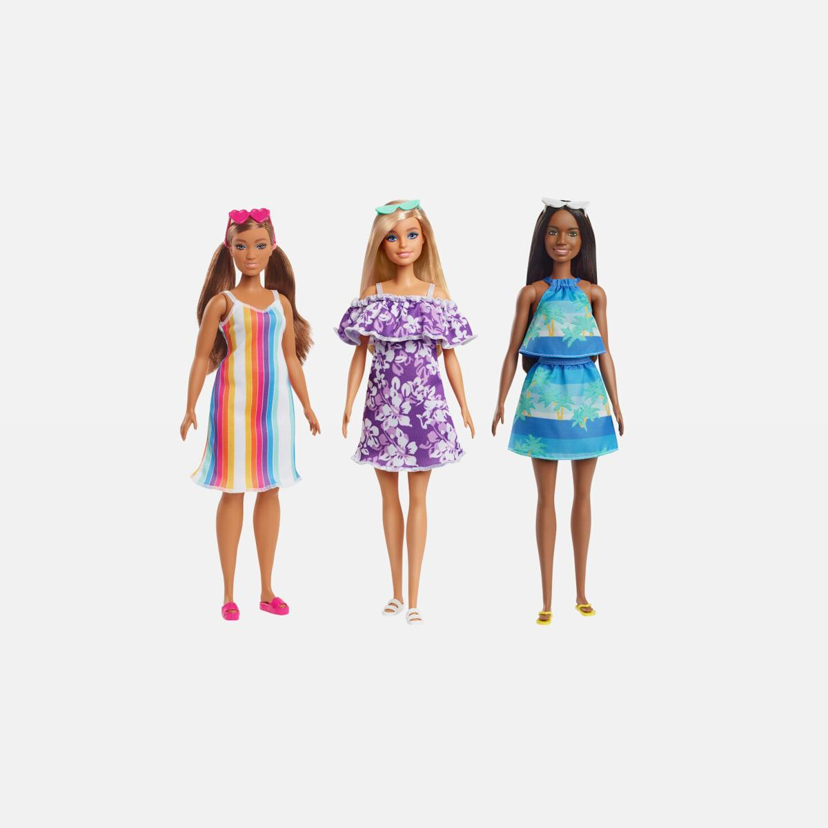 These new Barbies are made from ocean-bound plastic