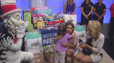 Lia Surprise Squad helps young girl battling rare disease give back to her community