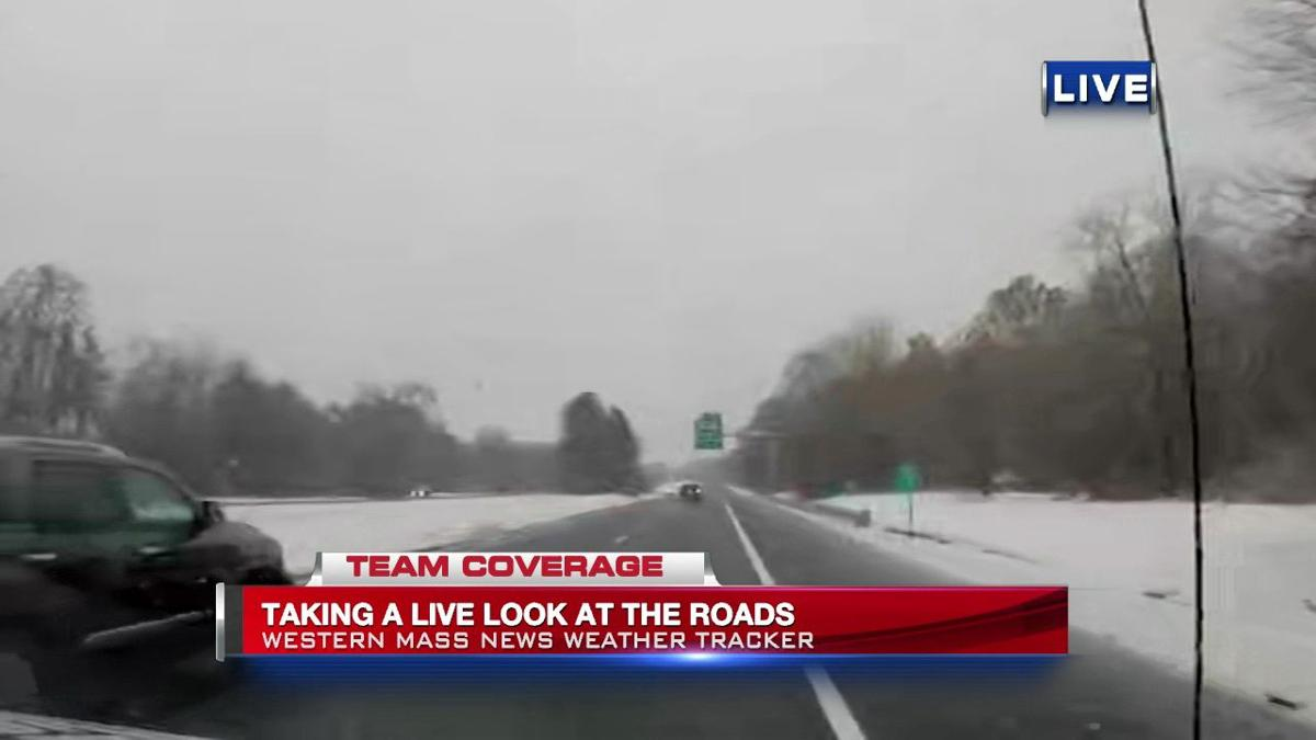 Rain, snow pose chance for slick spots on the road