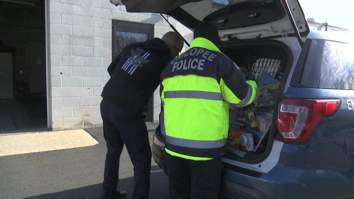 Chicopee Police hold 'Stuff the Cruiser' drive