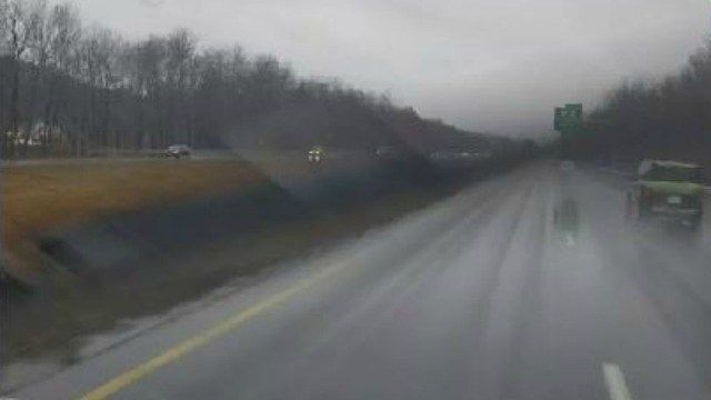 Nor'easter impacting Friday evening's commute