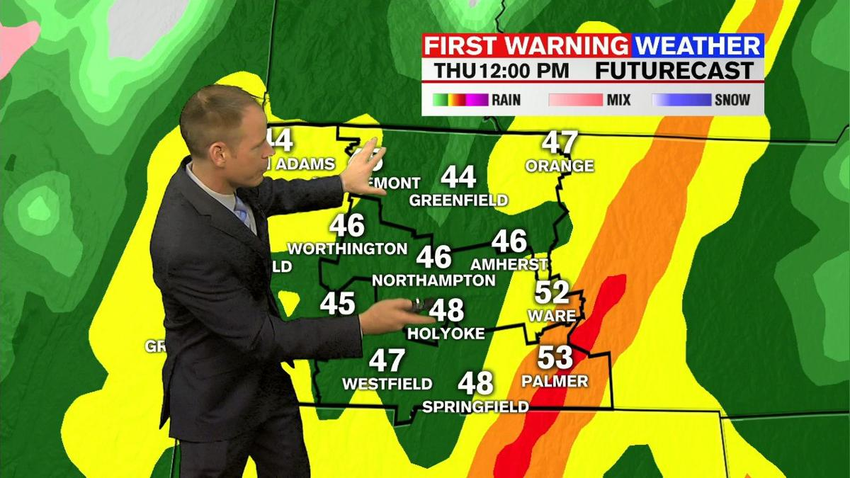 Dan's Tuesday Afternoon Forecast