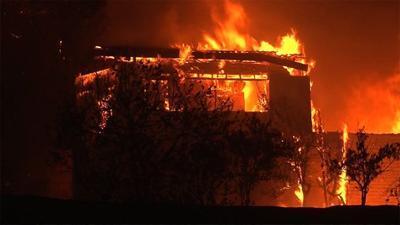 At least 10 dead as fires rage in Northern California