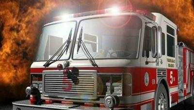 Pittsfield fire officials quickly douse structure fire despite windy conditions.