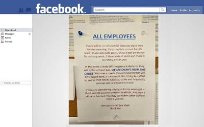 Jiminy Peak Mountain Resort apologizes after posted employee notice sparks outrage