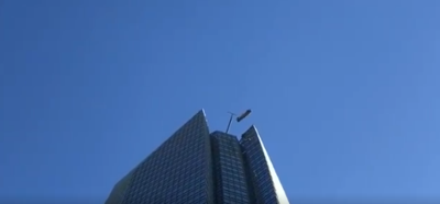 Workers rescued from broken lift at top of Devon Tower