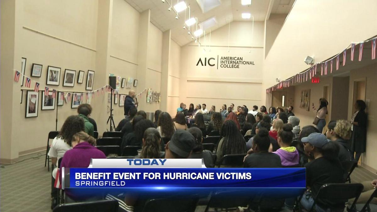 Benefit event held at American International College for hurricane victims