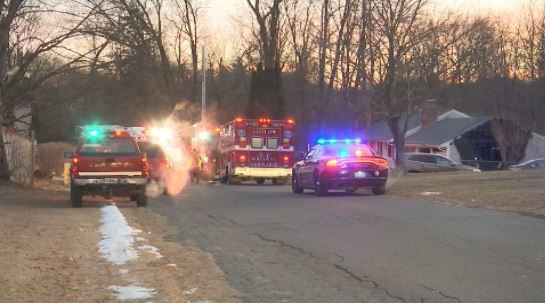 Fire damages attached garage at home in Ludlow