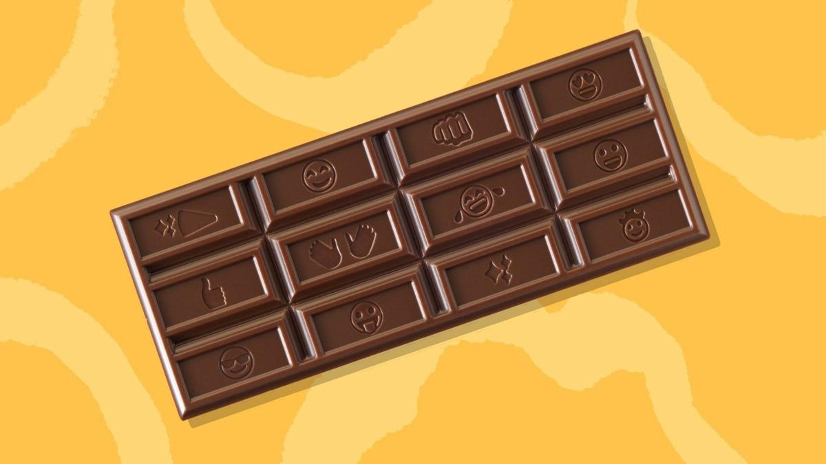 Hershey's is changing the look of its candy bar for the first time in history
