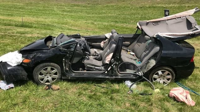 Woman seriously injured in rollover crash on I-91 South in Deerfield