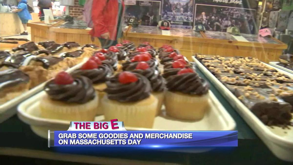 Great food and vendors abound at the Massachusetts Building