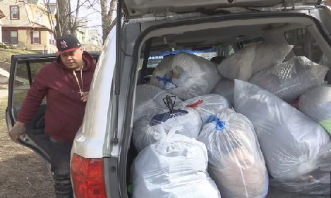 Springfield man collecting donations for Belmont Ave. fire victims