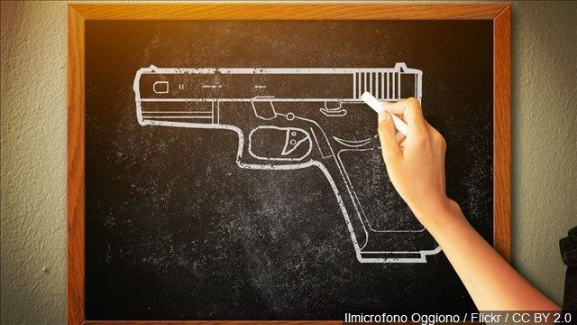 Residents react to president's proposal for teachers to carry guns