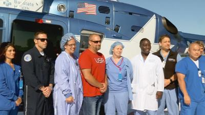 Life Star Baystate patient visit 080519