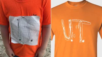 The University of Tennessee says it's already sold more than 16,000 shirts inspired by bullied boy's design