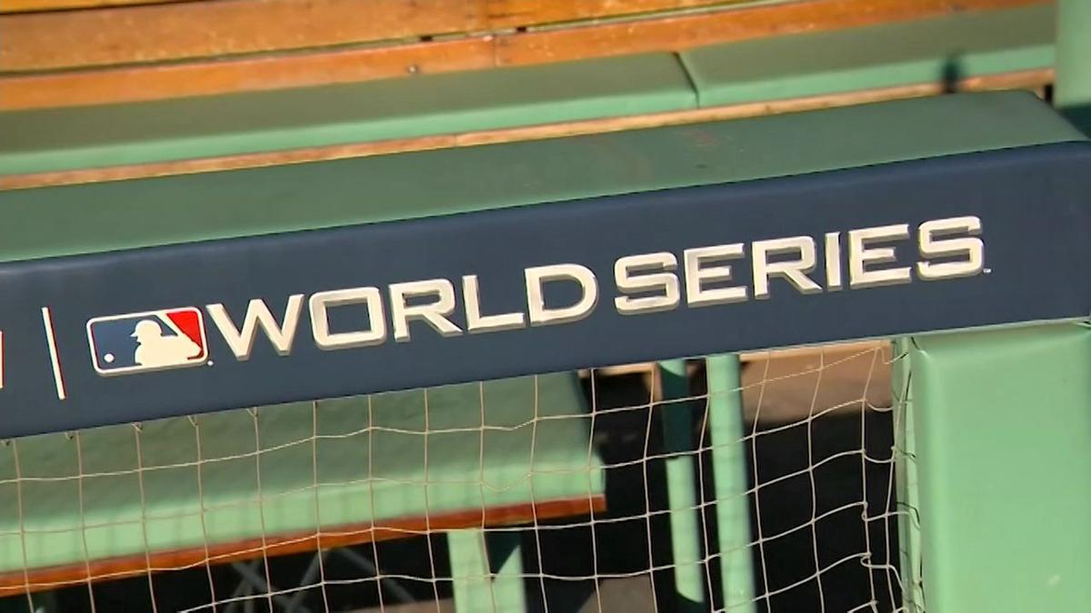 Preparations underway for the World Series in Boston