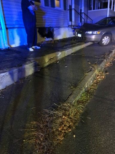 Morse Ave accident