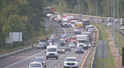 I-91 Police Chase following Workplace Shooting in CT