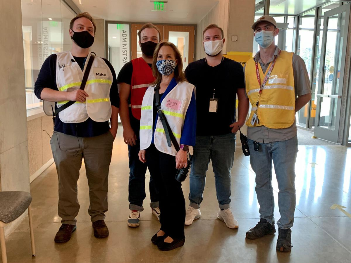 Virginia mom recruits four of her sons to work alongside her on the front lines of the Covid-19 pandemic