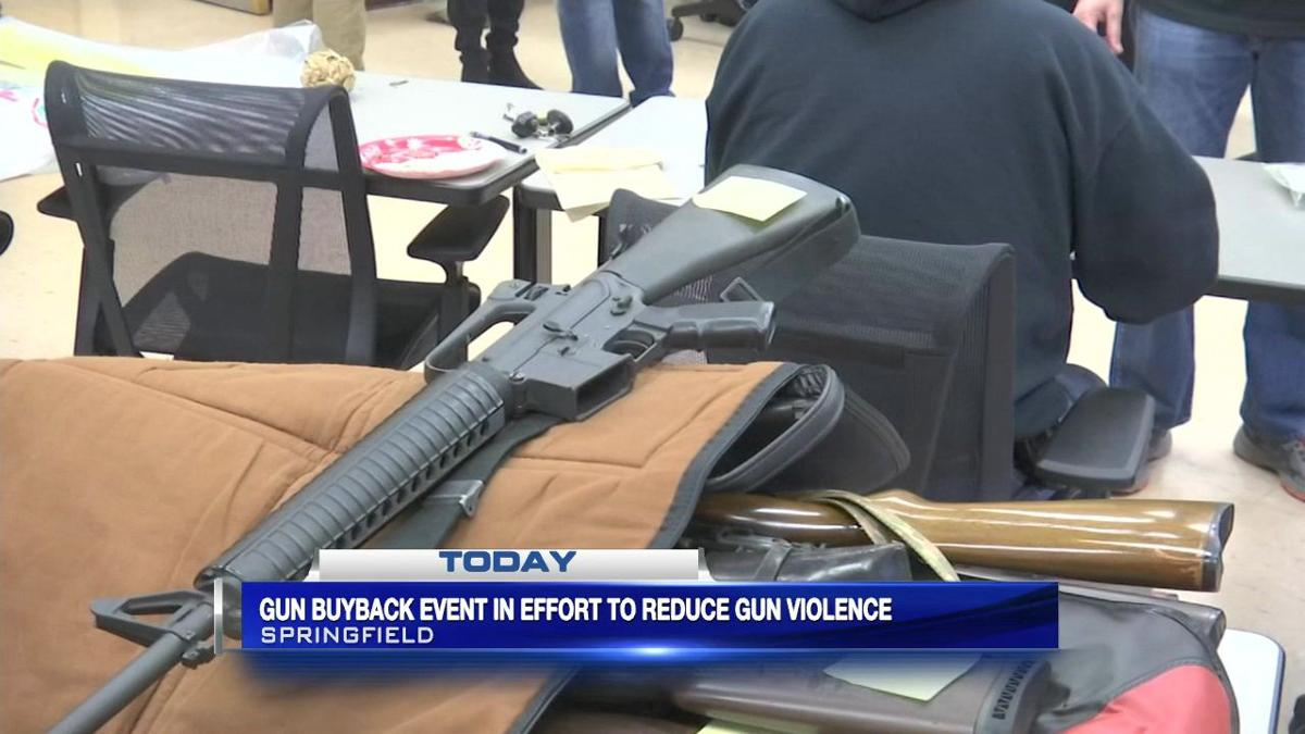 Hampden D.A., Baystate hold gun buyback event in effort to reduce gun violence