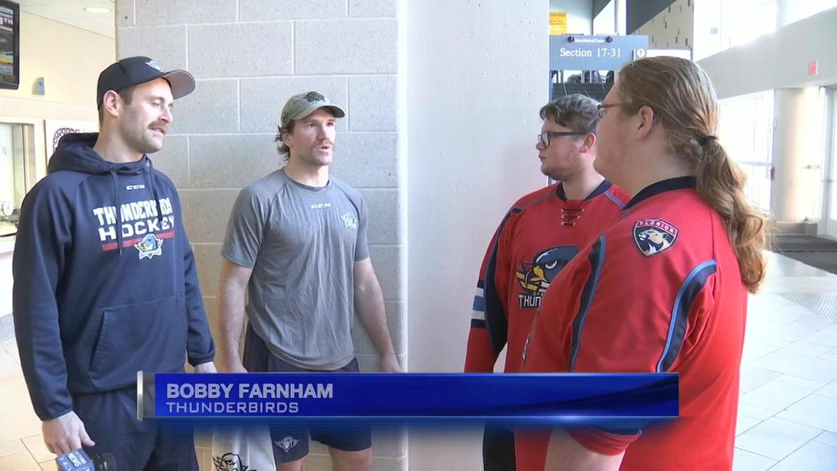 Surprise Squad, Springfield Thunderbirds assist local hockey player