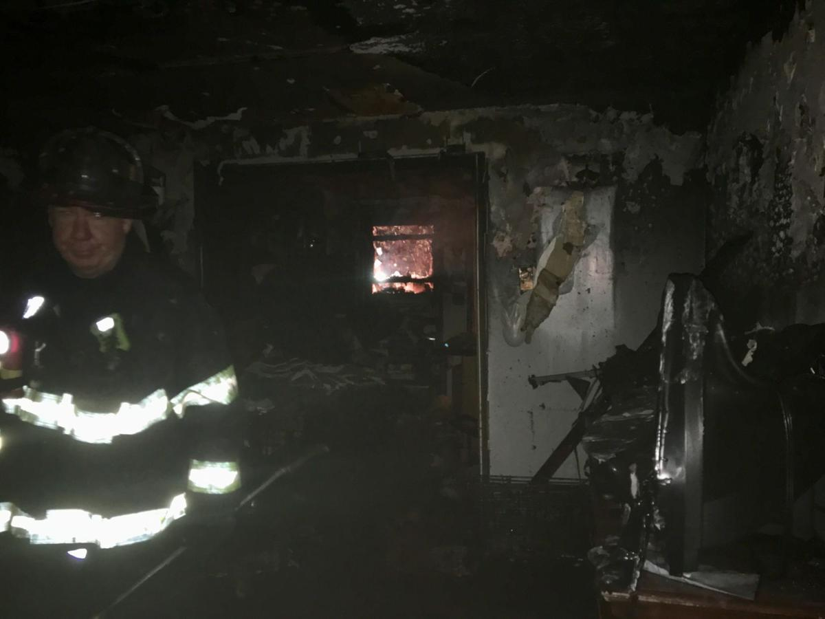 Four people displaced in Clayton St. fire in Springfield