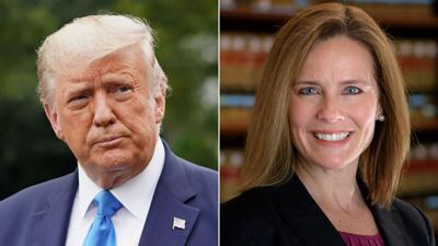 Trump selects Amy Coney Barrett to the Supreme Court