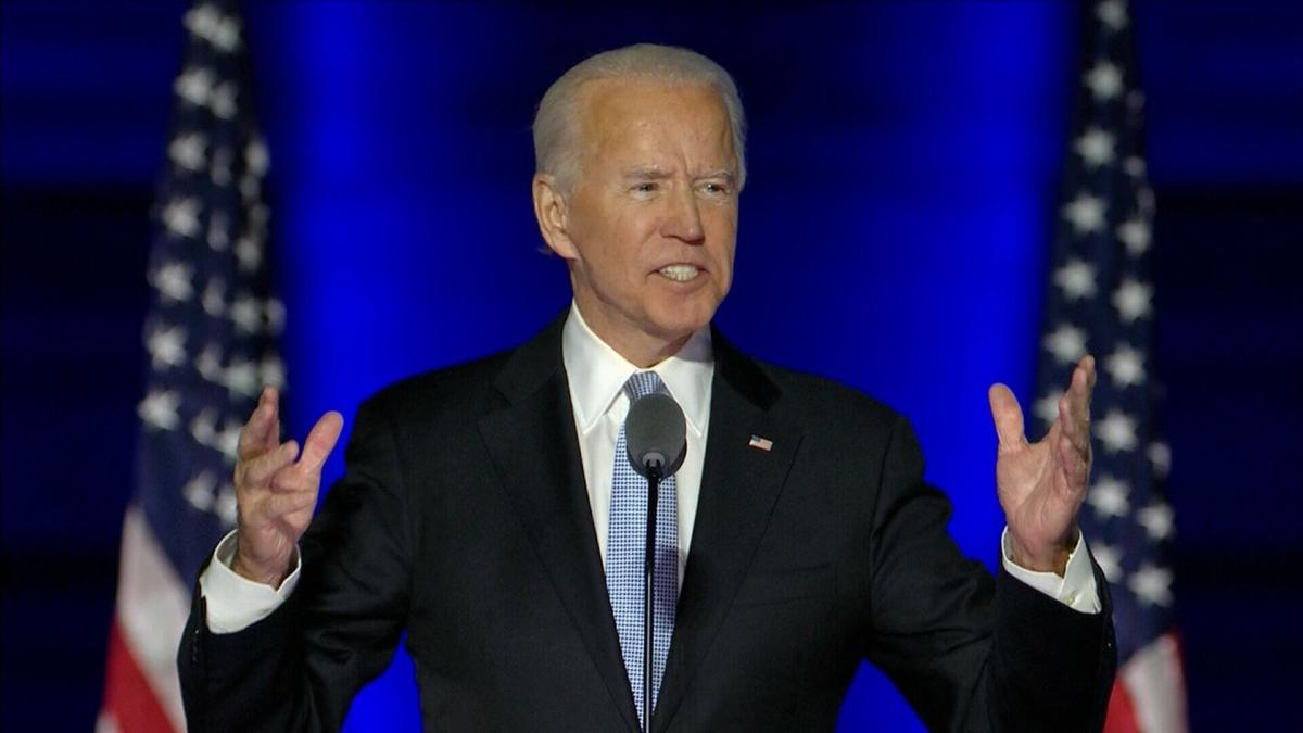 President-elect Joe Biden seeks to unite nation with victory speech