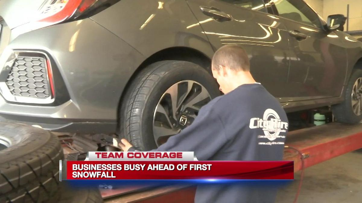 Rush is on to get snow tires ahead of winter weather