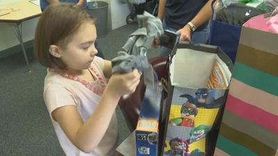 Lia Auto Group Surprise Squad helps Brimfield girl battling Chron's Disease