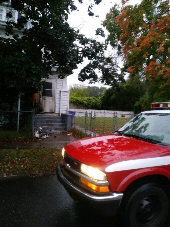Springfield firefighters called to porch fire on Wilber St.