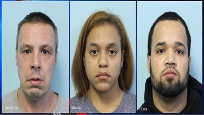 3 arrested for heroin trafficking in Springfield