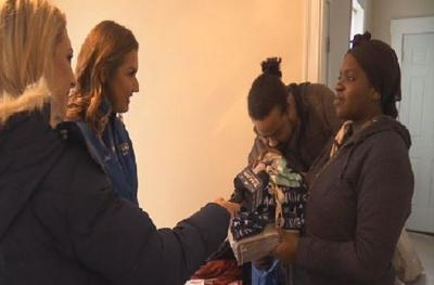 Surprise Squad helps mother-to-be battling health issues