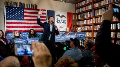 Andrew Yang receives endorsement from comedian Dave Chappelle