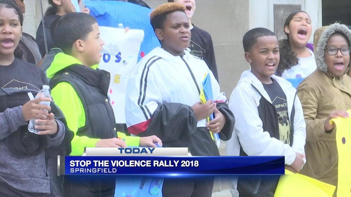 'Stop the Violence' rally held in Springfield