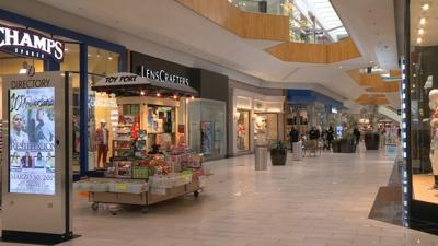 Local malls adapting to current shopping trends.