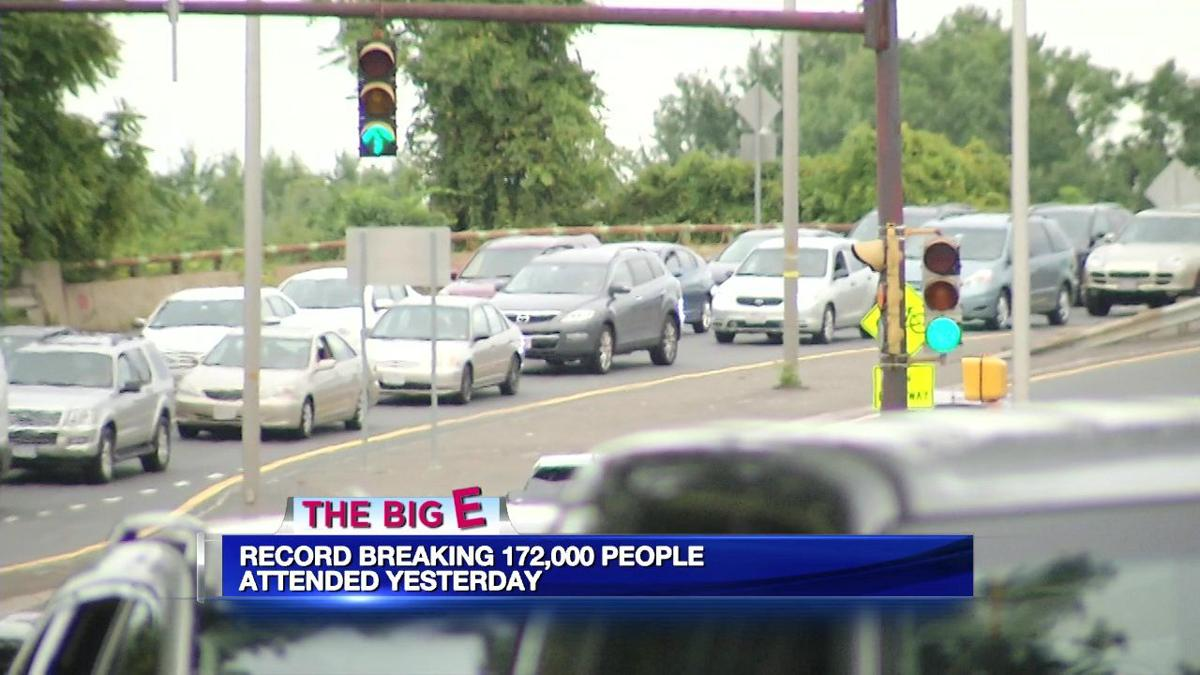 Big E breaks single-day record with over 172,000 people.