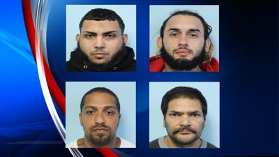 Police: Four arrested on drug-related charges, 24 bags of heroin recovered.