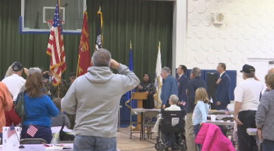 Veterans Day Ceremony in West Springfield