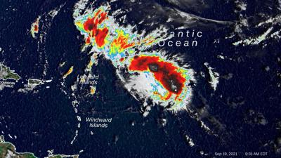 Tropical Storm Peter forms as the 16th Atlantic storm of 2021, continuing the busy tropical season
