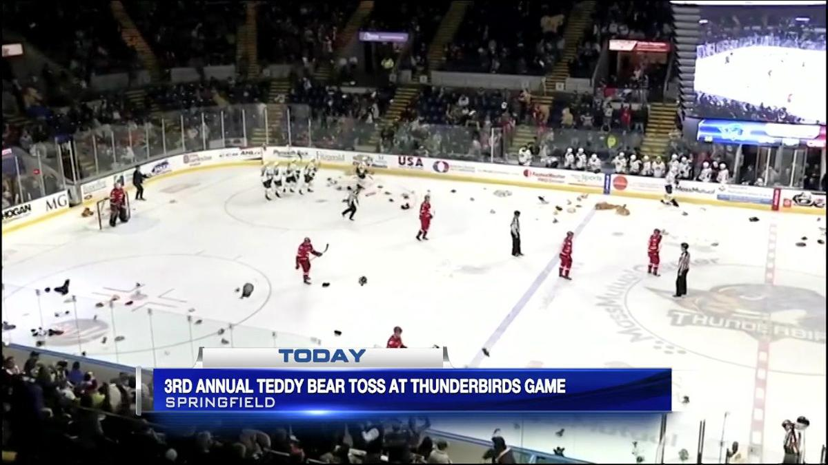 Thunderbirds hold third annual teddy bear toss