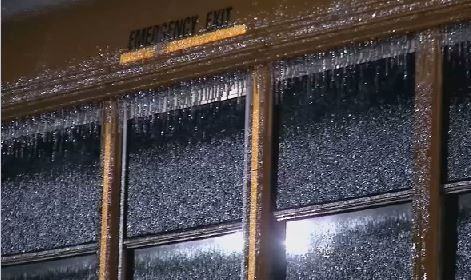 Ice impacts start of school day for several districts