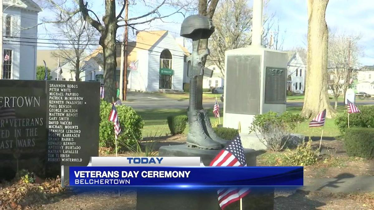 Belchertown community holds annual Veteran's Day ceremony on town common
