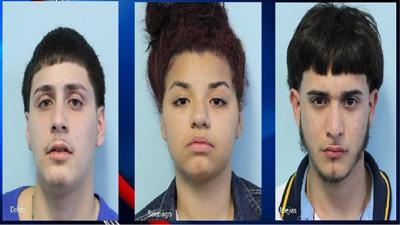 Springfield police arrest 3, recover gun and drugs during traffic stop