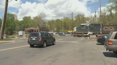 Train causing added headaches for drivers traveling between West Springfield, Agawam.