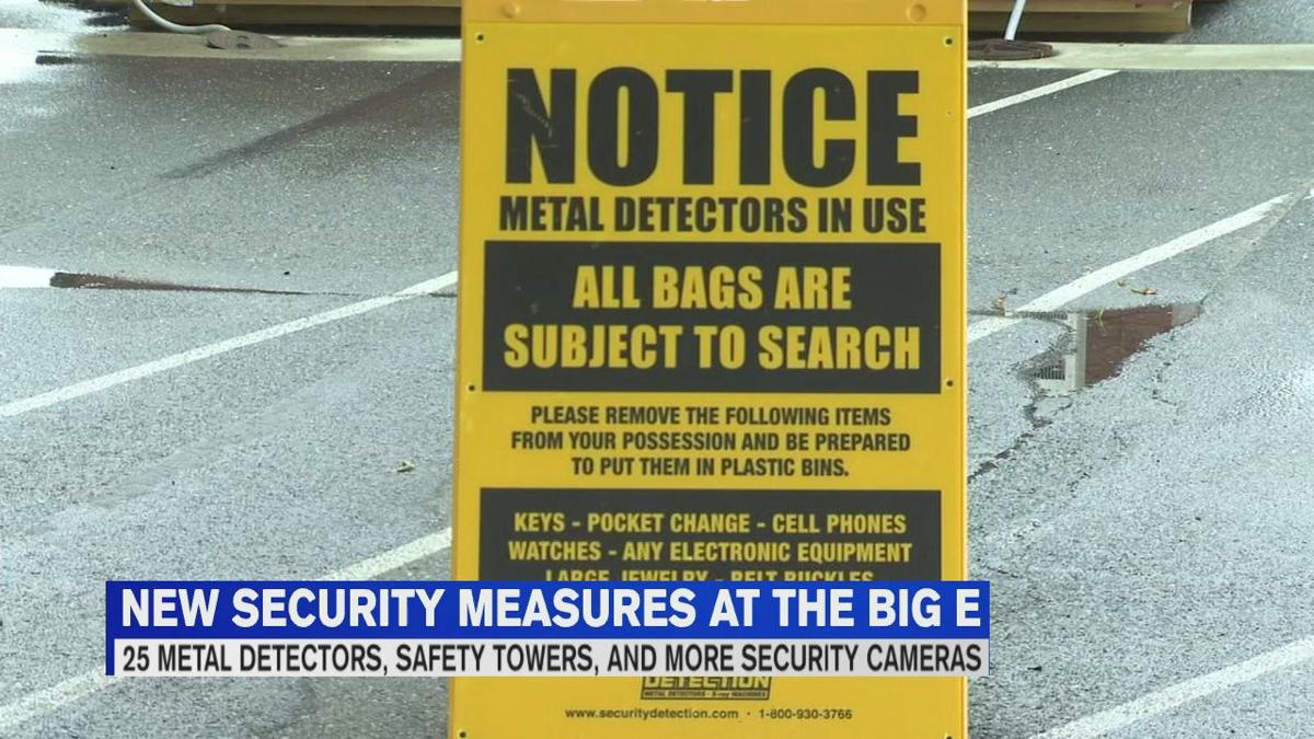 New security measures coming to The Big E