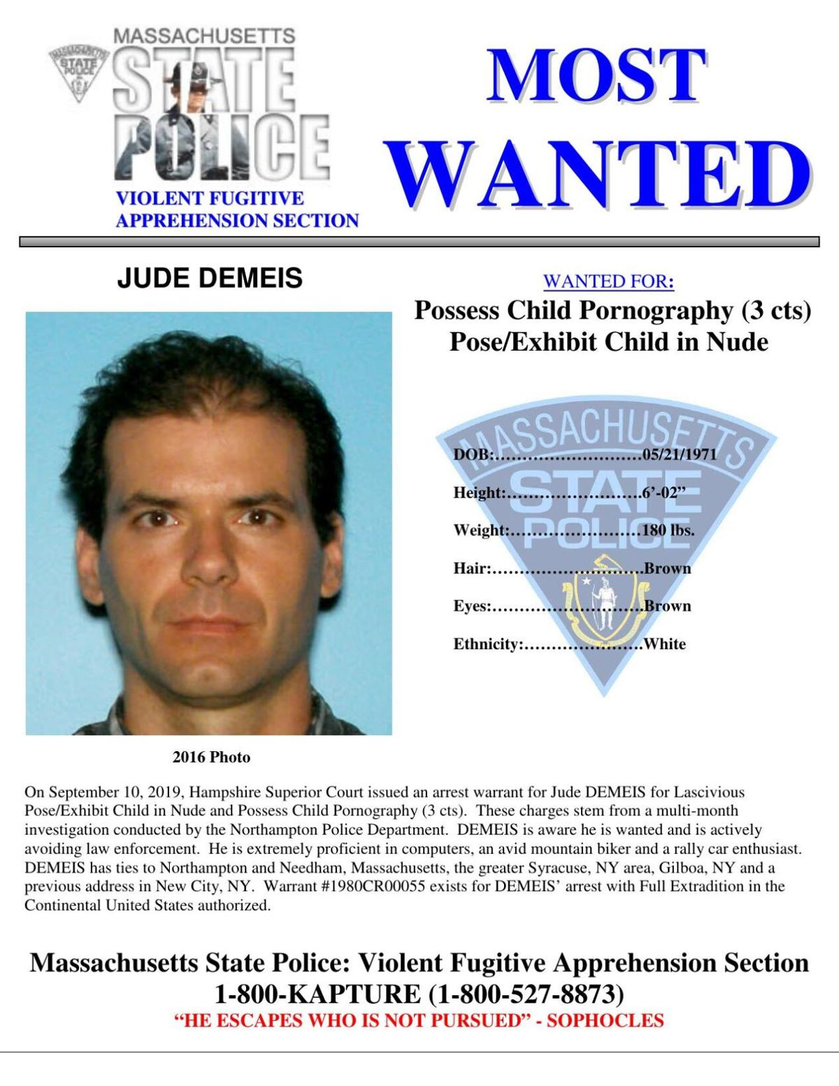 Jude Demeis Wanted Poster