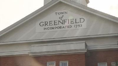 Greenfield town sign generic