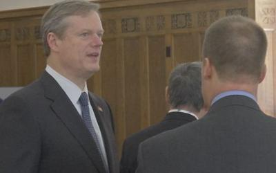 Gov Charlie Baker Visits New Charter School In Springfield News