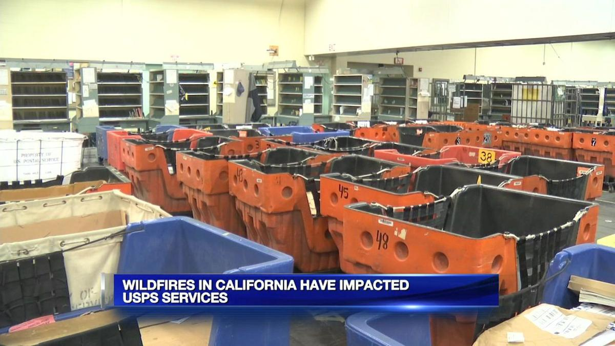 California wildfires impacting online holiday shopping